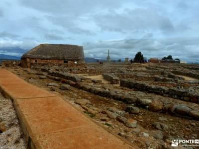 Yacimiento Numancia y Villa Almazán;la mujer muerta hanami el hayedo de montejo macizo de montserra